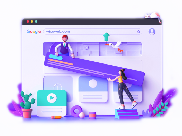 طراحی-سایت-ویکسو-وب